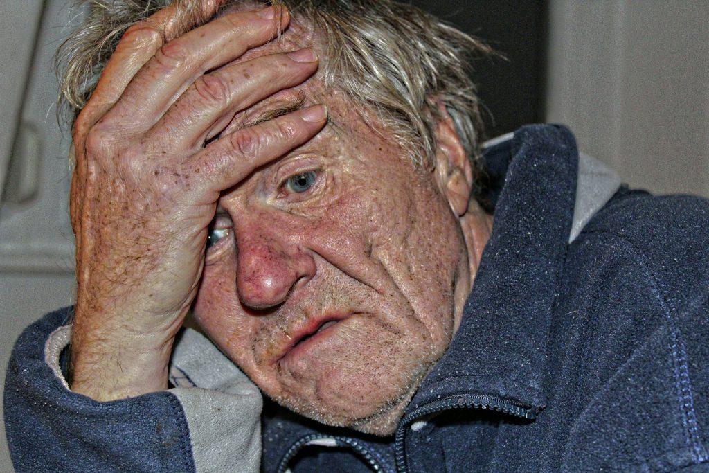 Probleme von Senioren